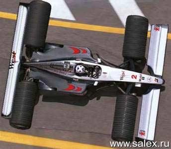 сверхширокие колеса в F1