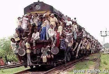 билетов на поезд всем не хватило...