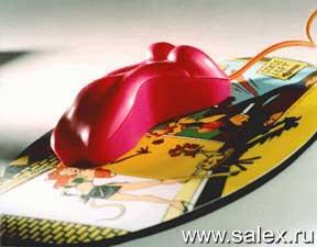 мышка в форме женского тела