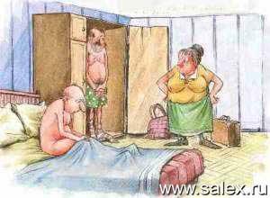муж изменяет жене с мужчиной